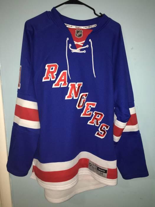 Reebok New York Rangers Jersey Size m - Long Sleeve T-Shirts for ... 5ed27b32f