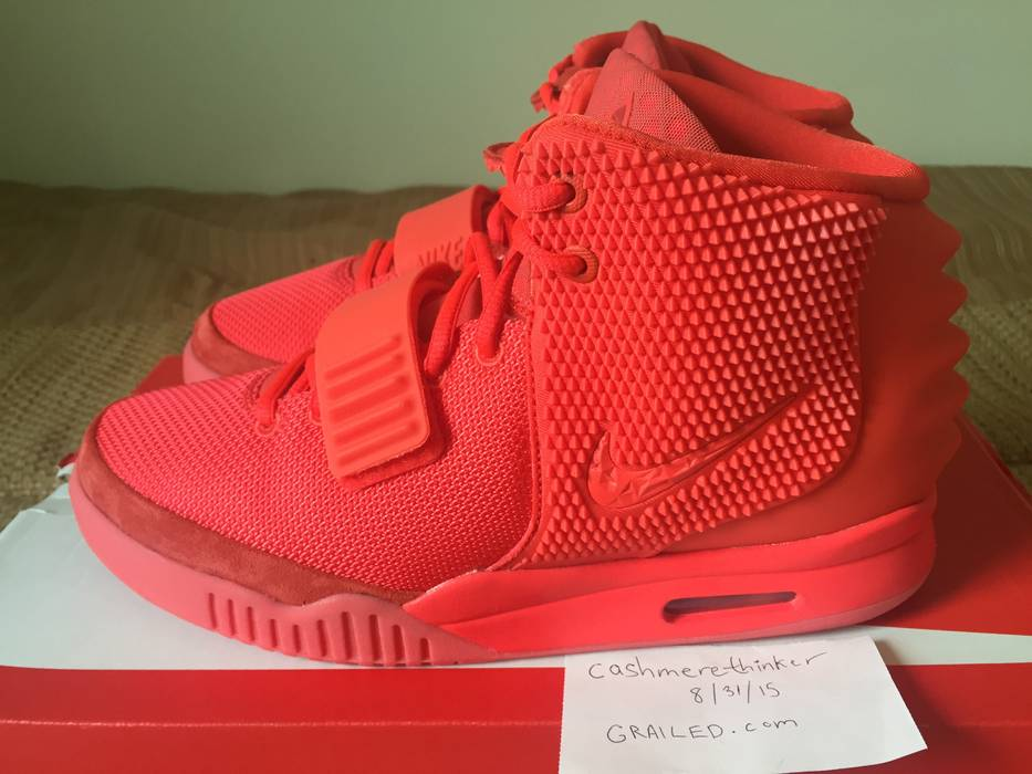 Nike Air Yeezy 2 SP Red October Size 9 - for Sale - Grailed 5314e6dbe