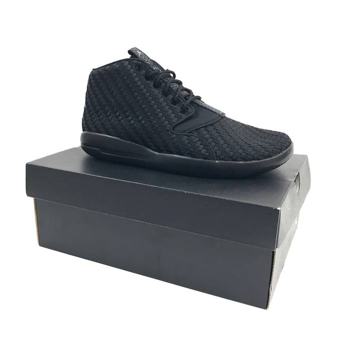 newest 3f839 e5de0 Nike Nike Mens Air Jordan Eclipse Chukka Basketball Shoes Black Gray Sz 8  881453-004