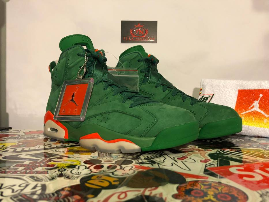 Nike Nike Air Jordan 6 Retro Gatorade Green Size 8 - Hi-Top Sneakers ... 54dcf1342