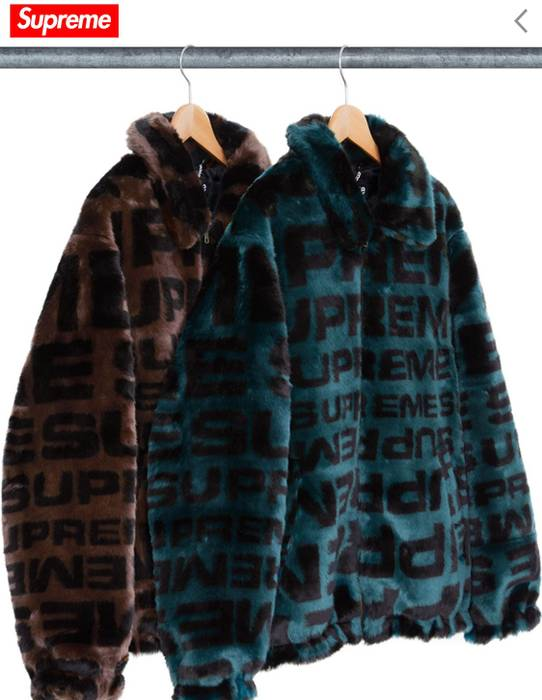 041fe475 ... Jacket Black M 黒 メンズのジャケット; Supreme Faux Fur Repeater Bomber Size US M  EU 48-50 ...