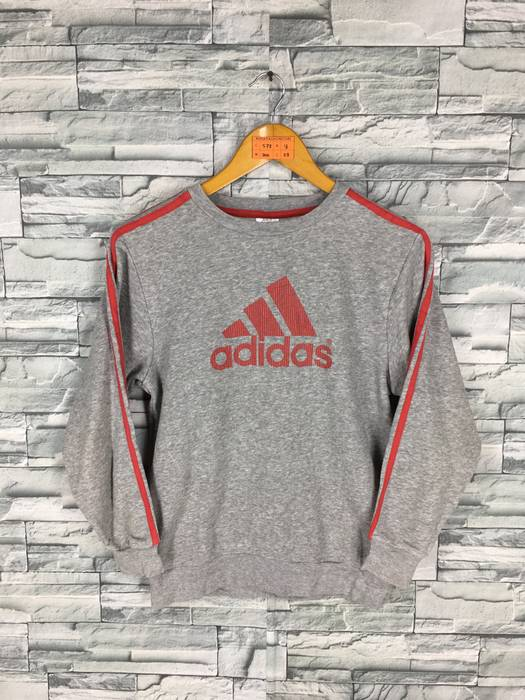 Adidas Vintage 90 s ADIDAS Sweatshirt Ladies Small Women Adidas Equipment  Apparel Crewneck Jumper Adidas Pullover Gray 9b41bc45d