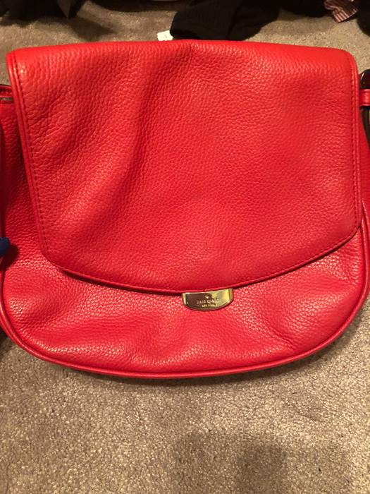 Kate Spade Kate Spade Red Purse Size One Size Bags Luggage For