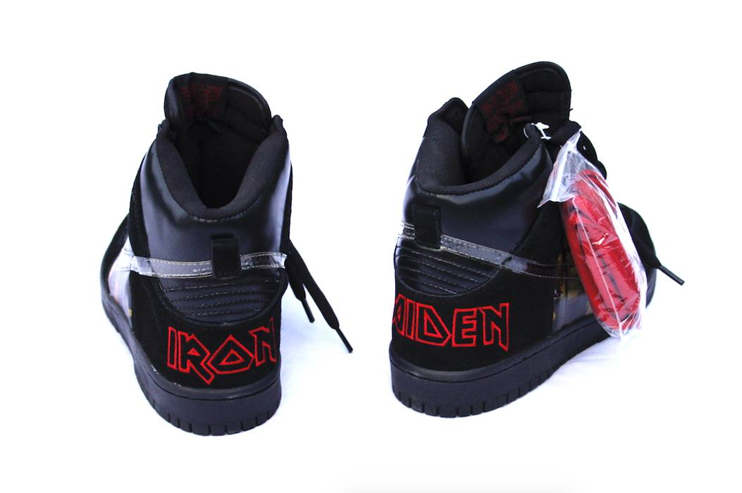 san francisco 0491e 2b26a low cost dunk high pro sb iron maiden black d1632 12127