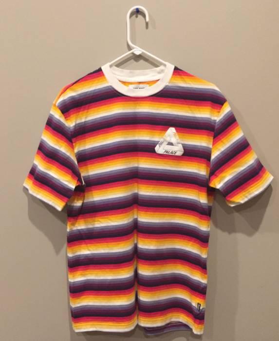 b9827ea7f337f1 Palace Thin Stripe Tri Ferg Tee Size l - Short Sleeve T-Shirts for ...