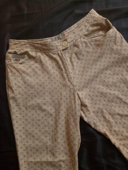 Louis Vuitton Vintage Louis Vuitton Monogram Pants Made In Italy Not
