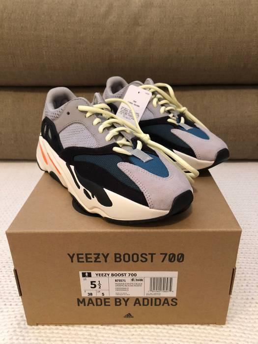 2e9cbb4db1f Adidas Kanye West Yeezy Boost 700 Waverunner Size 5.5 Size US 6   EU 39