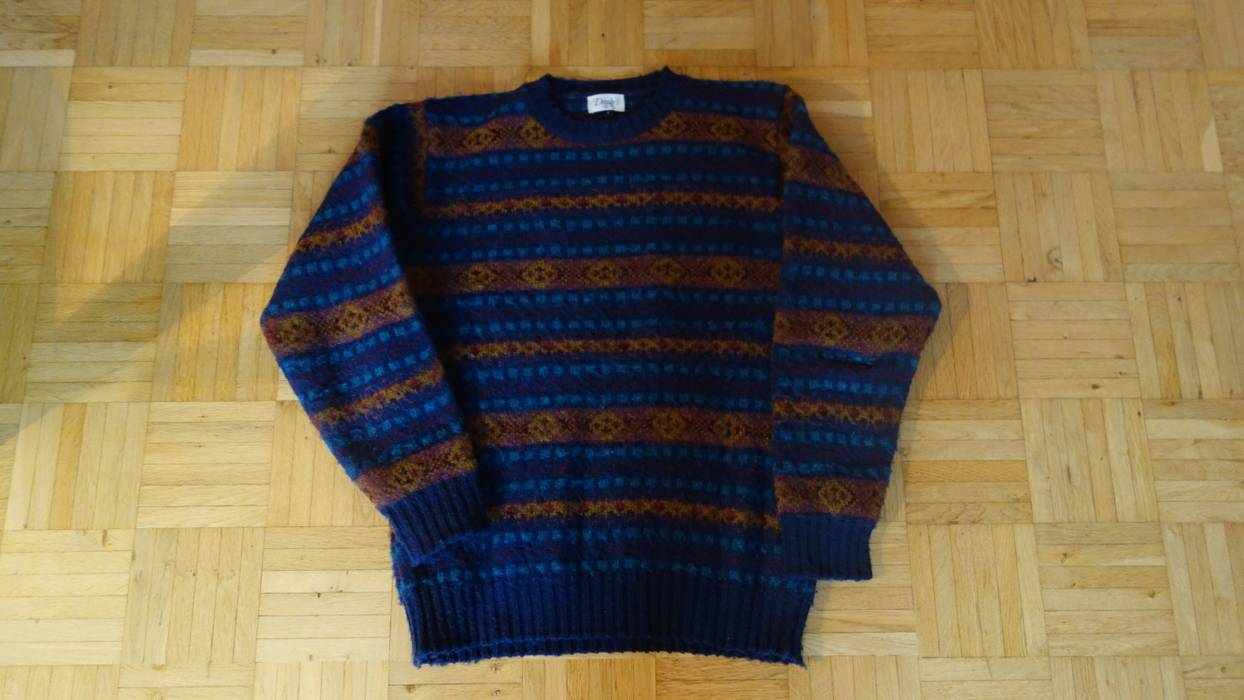 Drakes Fair Isle Sweater Size S Sweaters Knitwear For Sale Grailed