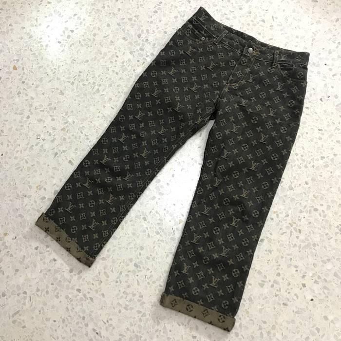 Louis Vuitton Vintage Louis Vuitton Monogram Denim Pants Size 30