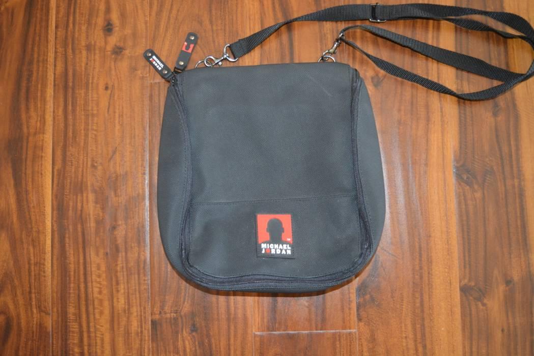 84a1bc8ac5a5 Vintage. Michael Air Jordan Brand Messenger Travel Sling Shoulder Bag. Size   ONE SIZE