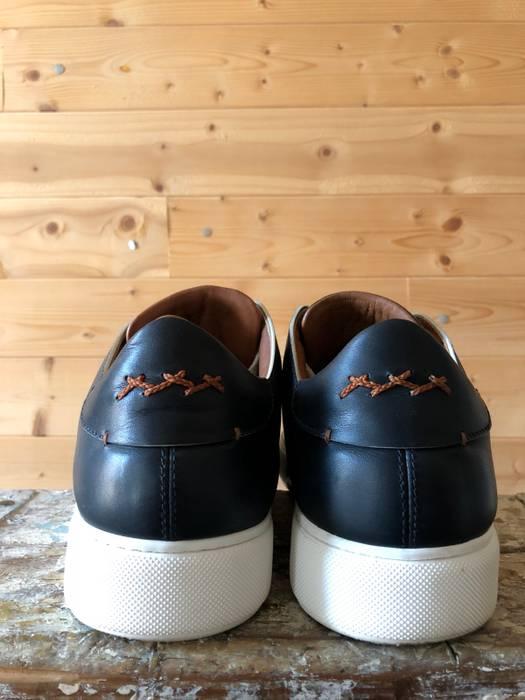 37eb2ae91e963 Ermenegildo Zegna Eremenegildo Zegna Blue Calf Tiziano Sneaker Size US 9    EU 42 - 5