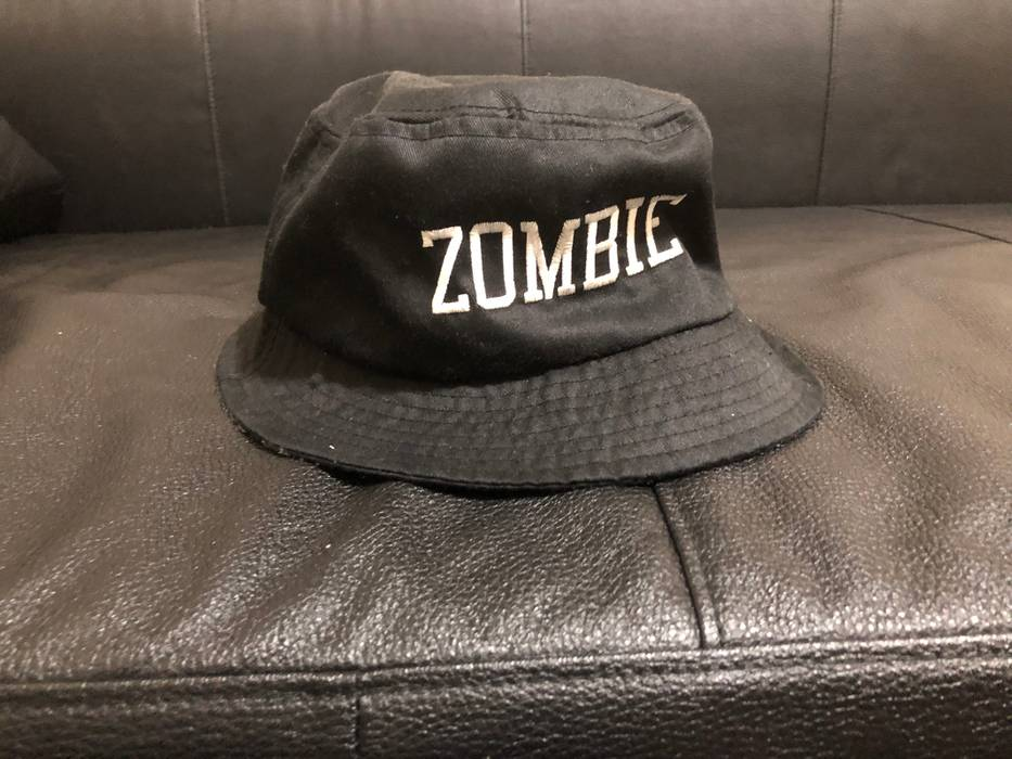 Stussy Black Zombie Bucket Hat Size one size - Hats for Sale - Grailed a5226d923b6