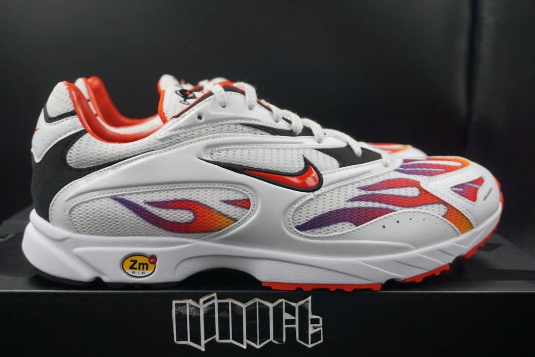Supreme Supreme x Nike Zoom Streak Spectrum Plus White Red Black AQ1279-100  Size US e8ea39301
