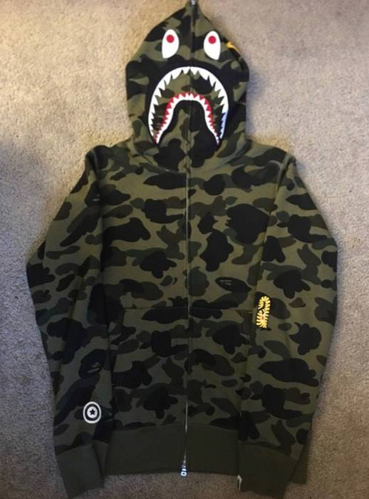 f35718c5766c Bape Bape PONR Camo Hoodie Size m - Sweatshirts   Hoodies for Sale ...