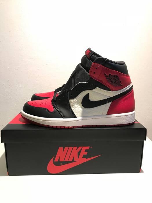 7f93d81bac6e8f Nike Nike AJ I Air Jordan 1 High Retro Bred Toe 2018 US10 Size 10 ...