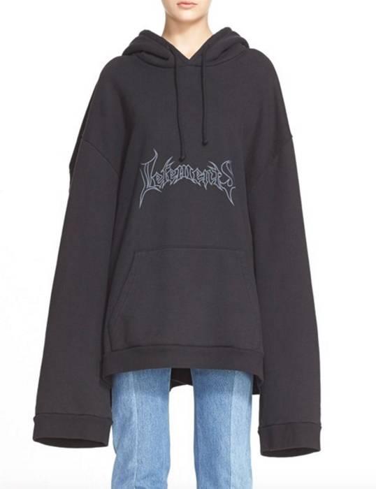 Vetements Oversize Logo Hoodie Size M Sweatshirts Hoodies For