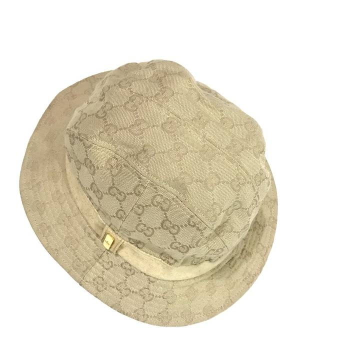 fa74d550e608c Gucci Vintage Gucci Monogram Bucket Hat Made in Italy Good Condition Not  louis vuitton fendi hermes
