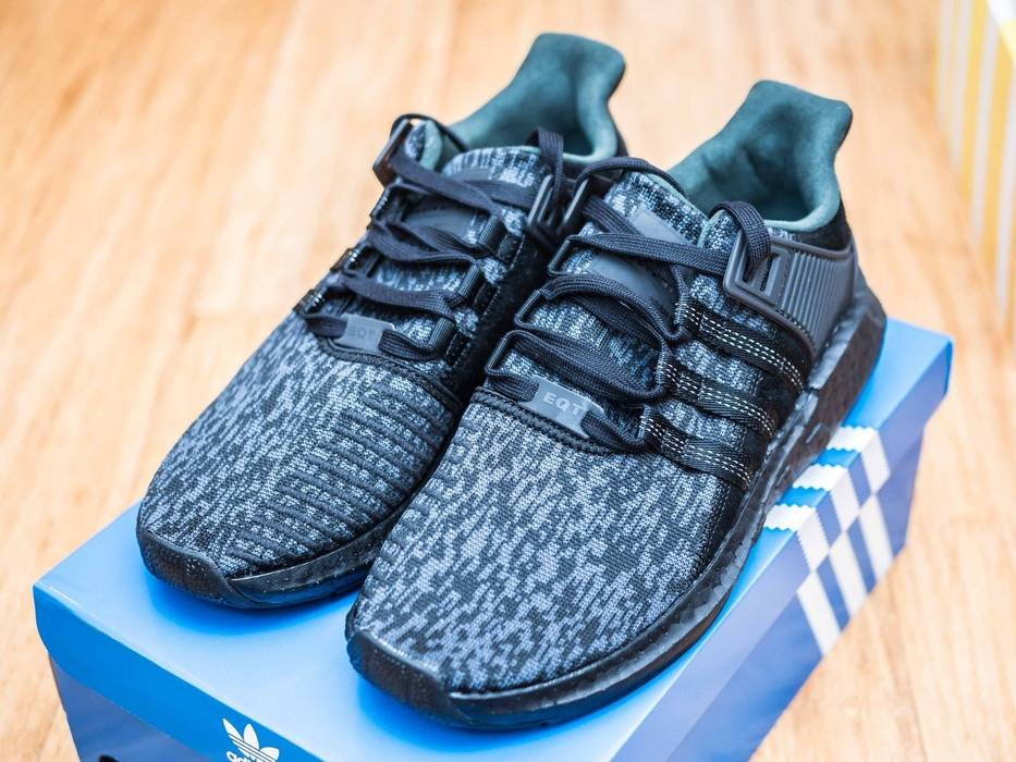 new product a2b22 724bc Adidas. Adidas EQT Support 9317 Core Triple Black ...