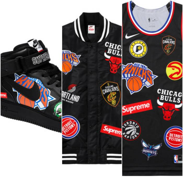 Supreme SUPREME NBA BUNDLE (SEE DESC) Size m - Light Jackets for ... 7b9b8f618