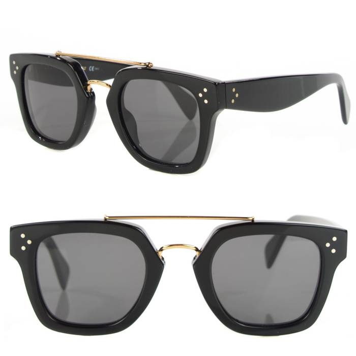 1482ef54d72 Celine NEW Celine Bridge Sunglasses in Black Size one size ...