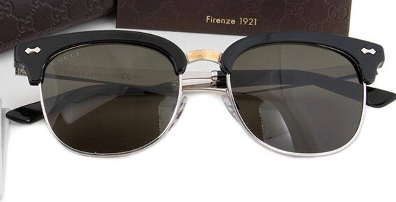 1f8d6795599 Gucci GG2273 Engraved Clubmaster Sunglasses Size one size ...