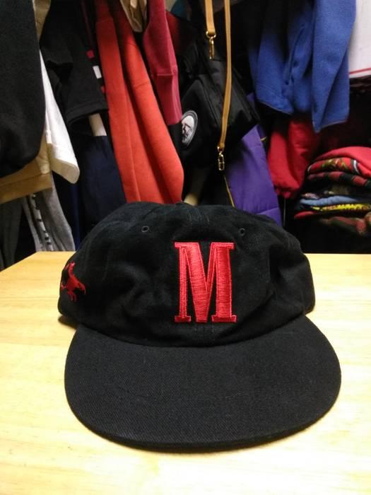 263f7f3e6f7 Vintage Vintage Marlboro Strapback Rare M Big Logo Black and Red Size ONE  SIZE