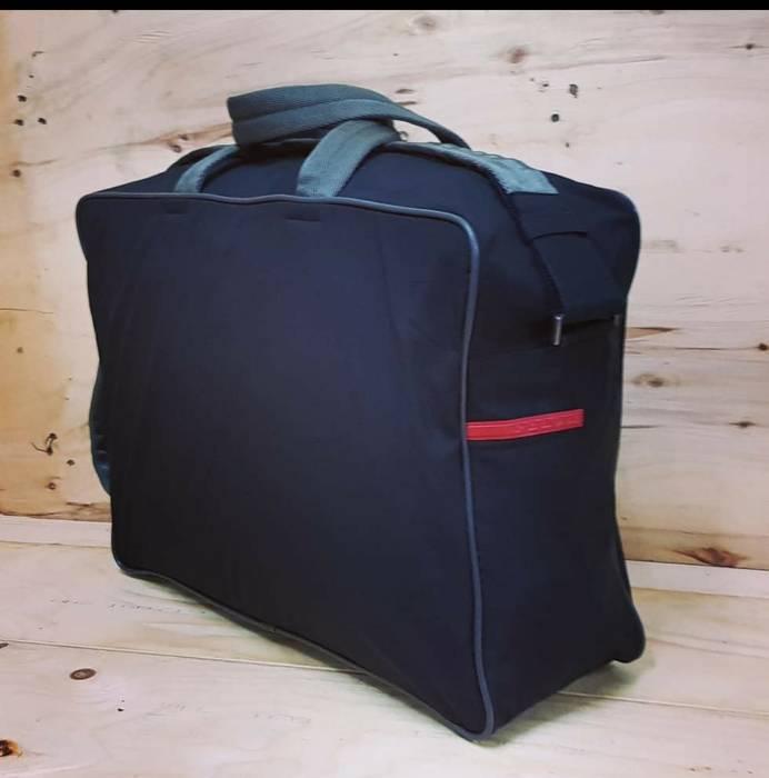 Prada Authentic Prada Boston 2 Way Nylon Messenger Bag.. Size one ... 99eff4ee3a