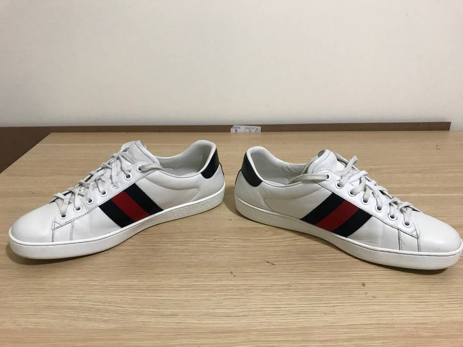 440a61112ed Gucci White Classic Ace Sneakers Size 9.5 - Low-Top Sneakers for ...