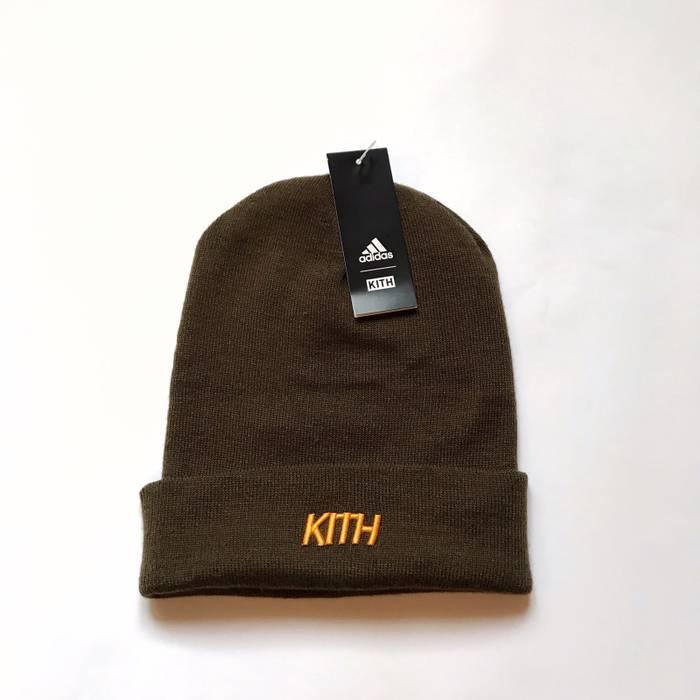 08915ec5316 Adidas Adidas X KITH Soccer Rays Olive Beanie Hat K Wollie Size ONE SIZE