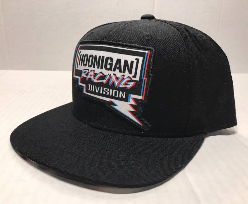Hat Hoonigan Racing Division Pennzoil Black Flat Bill Snapback ... 2077b4fcd5d
