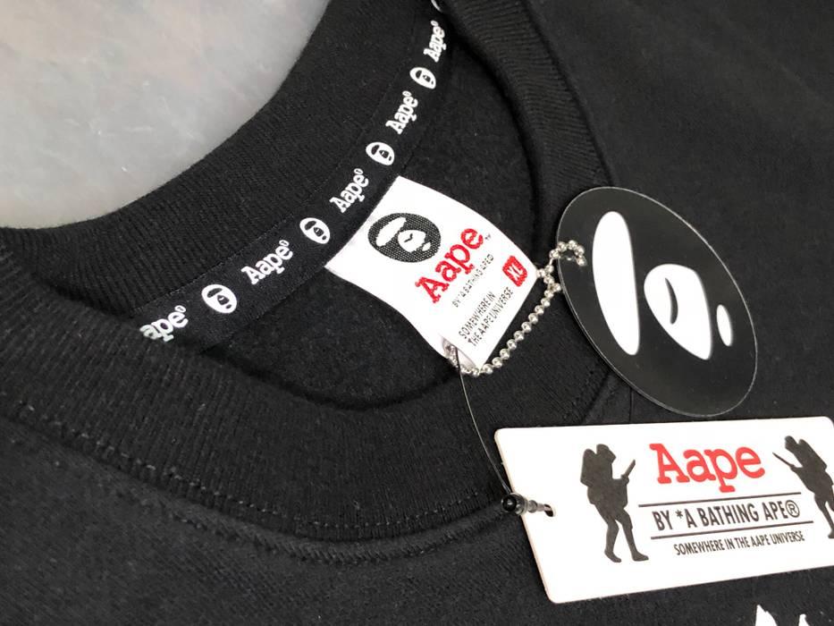 Bape MOONFACE College Crewneck Sweatshirt Size US XL   EU 56   4 - 4 83f1883d8