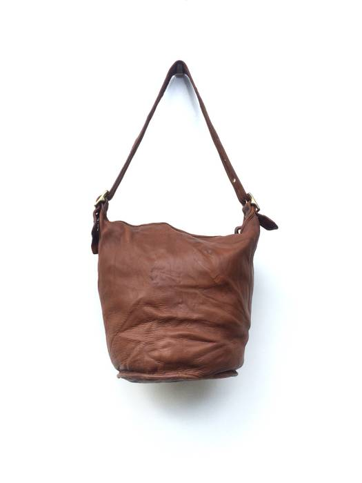 a49fe3c80a4f ... discount coach vintage coach 9085 brown leather xl duffle bucket bag  size one size 86e0b 3f3df