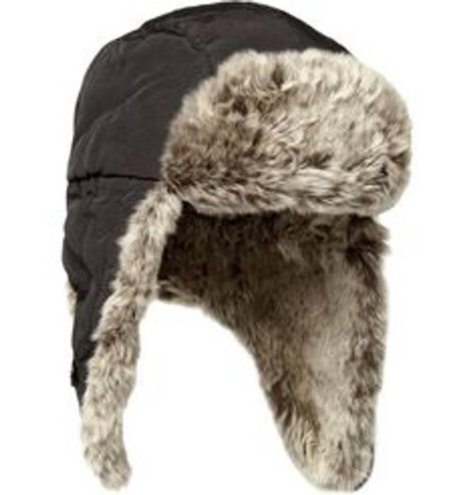 Woolrich John Rich   Bros. Rabbit-Trimmed Cotton Blend Trapper Hat ... 90fc1c761725