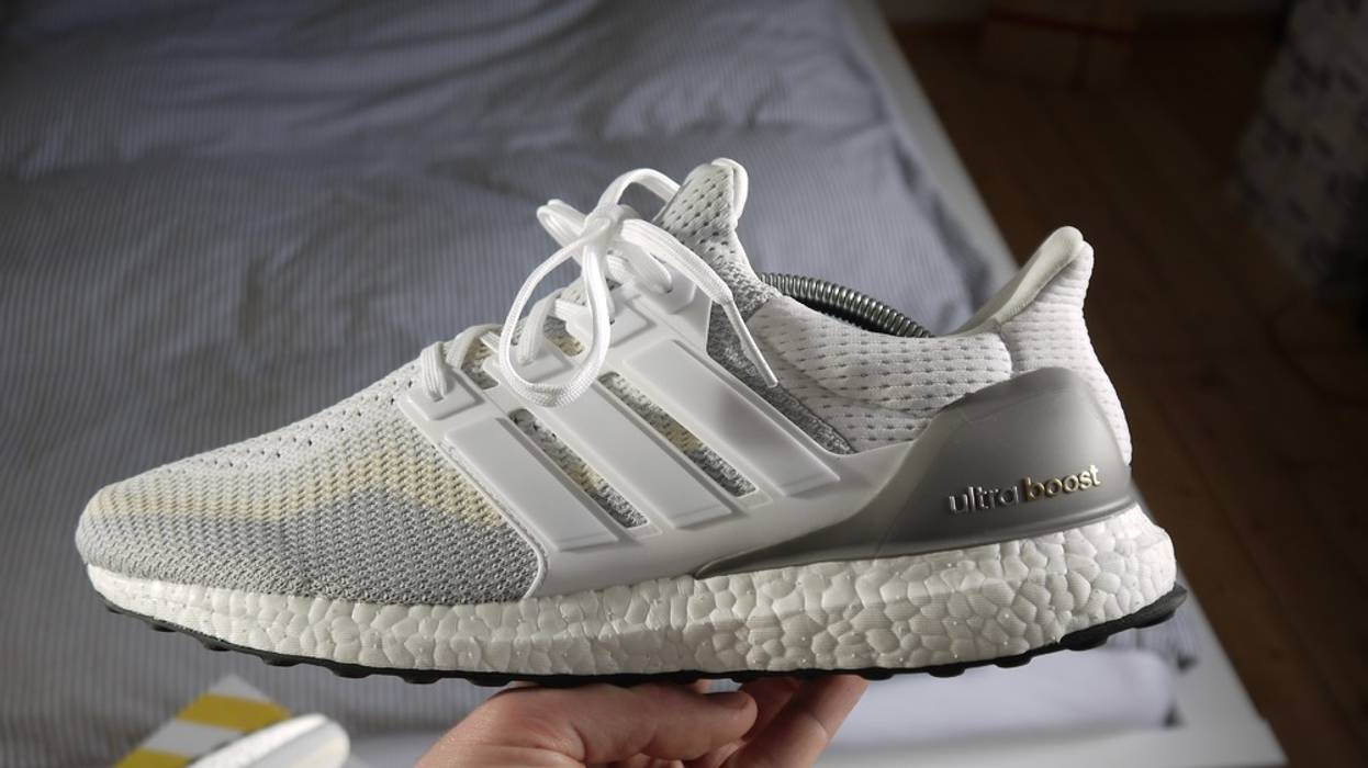 4424e951be54c5 Adidas Ultra Boost Gray Off White Size 9 - Low-Top Sneakers for Sale ...