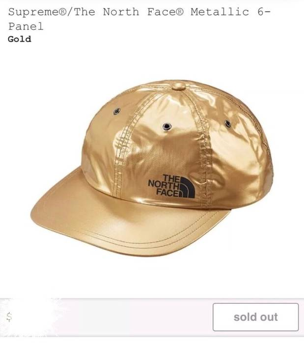 Supreme Supreme X North Face Gold Hat Size one size - Hats for Sale ... 55d4f6e8abd