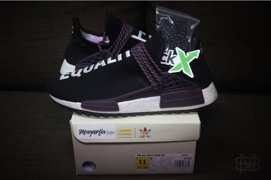 "ed914f8349ba Adidas ""Equality Purple"" Adidas Human Race NMD Holi Size 11 - Low ..."