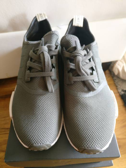 Adidas Adidas NMD R1 Utility Green Olive and Maroon Women s size 10 ... 35b703849503