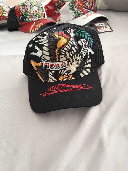 Christian Audigier Vintage Ed Hardy Hat Very Limited Size one size ... 1a6a5329f0ce