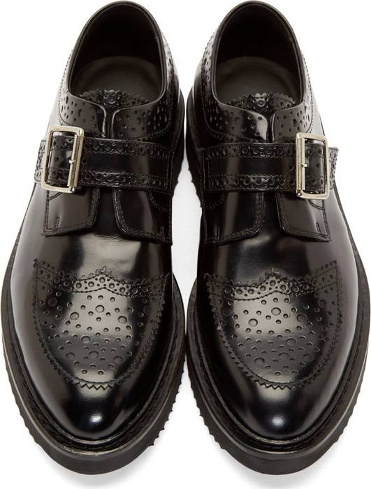 9f0c6219bf Kris Van Assche Black Leather Creeper Brogues Size 9 - Formal Shoes ...