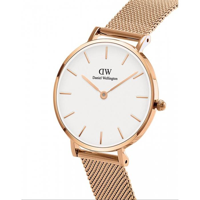 0b2a3a30f3c5 Daniel Wellington. NWT Daniel Wellington Classic Petite Melrose White Rose  Gold 32mm Watch Women s