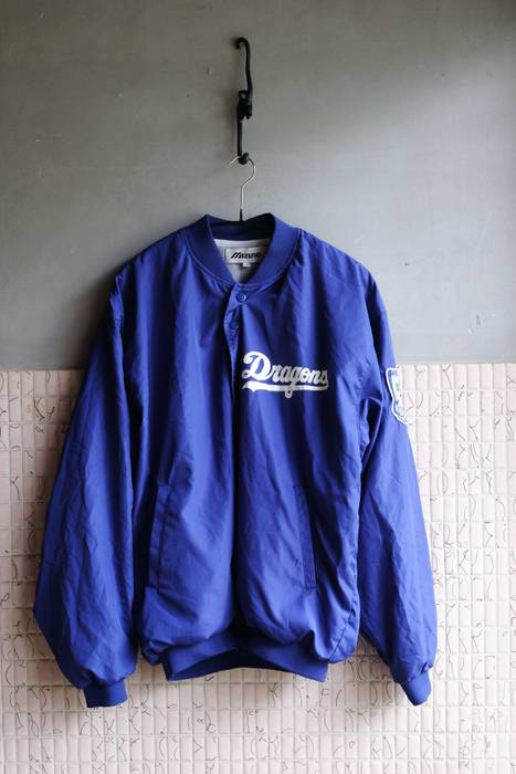 3982eb5c570 Mizuno RETRO CHUNICHI DRAGONS TEAM JACKET Size m - Bombers for Sale ...