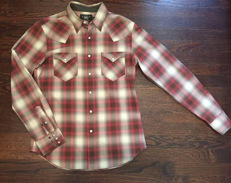 1c49a28a4916 Rrl RRL Ralph Lauren classic plaid cotton work shirt Size m - Long ...