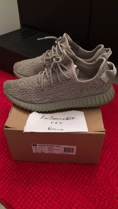 2a77e07a1e07 Adidas Kanye West Yzy Boost 350 Moonrock Size 8.5 - for Sale - Grailed