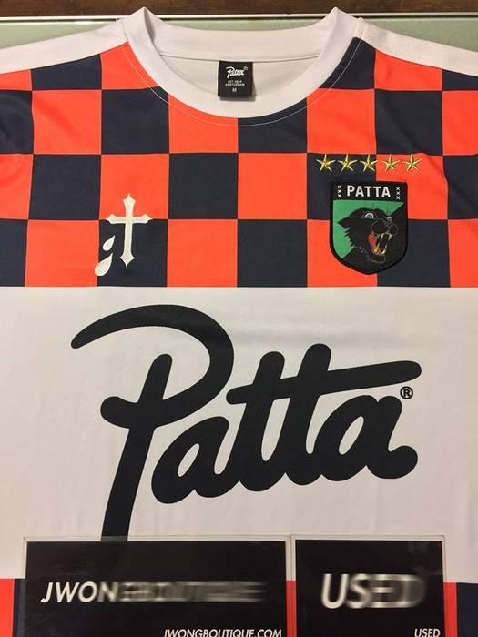 Patta 2016 Patta Kempi Alchemist Soccer Jersey Size US M   EU 48-50   6cebac77b