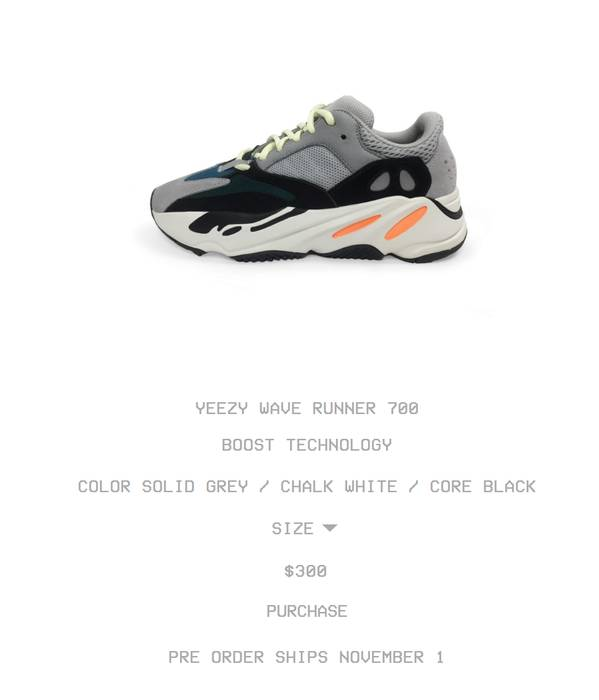 c76592b0754e kanye west adidas yeezy boost 700 wave runner grey blue for sale