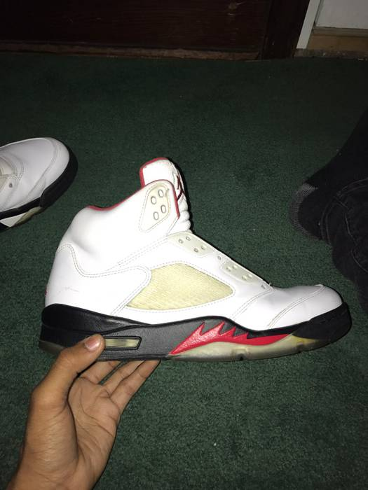 c2b4c7c30476 Jordan Brand Jordan 5 Fire Red 2013 Size 9.5 - Hi-Top Sneakers for ...