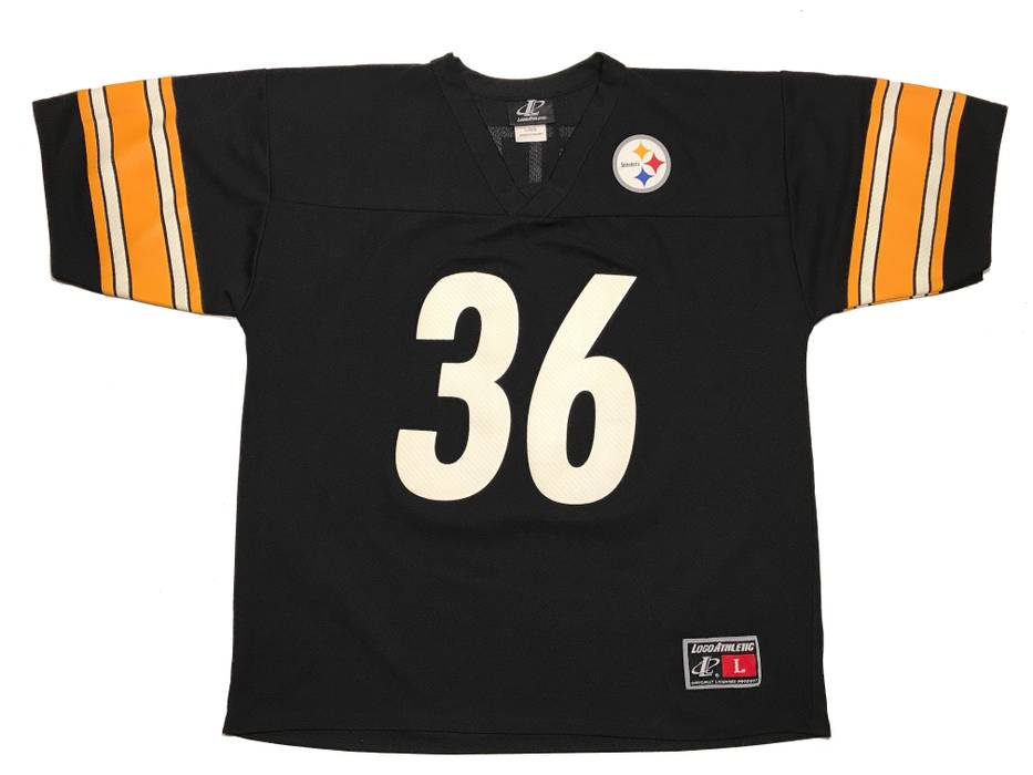 30c3f37a6 Vintage Pittsburgh Steelers Jerome Bettis  36 Jersey Size US L   EU 52-54