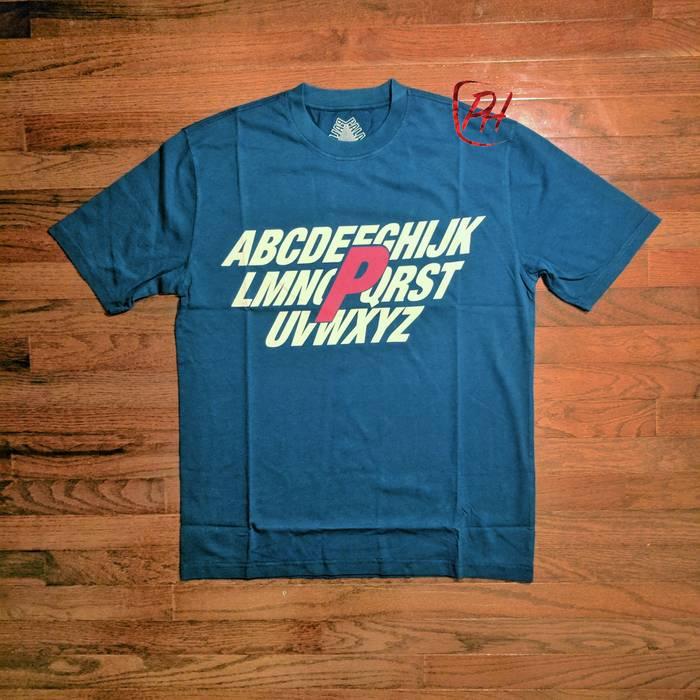 39e06678f3c9 Palace Palace Alpha Tee T Shirt - Size Large - Blue - FREE SHIPPING ...