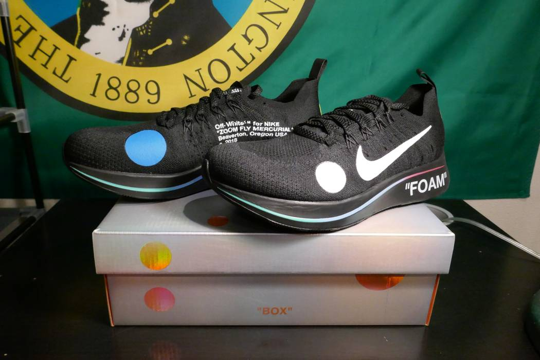 f7876ddd9a61 Nike Zoom Fly Mecurial Black Size 10 - Low-Top Sneakers for Sale ...
