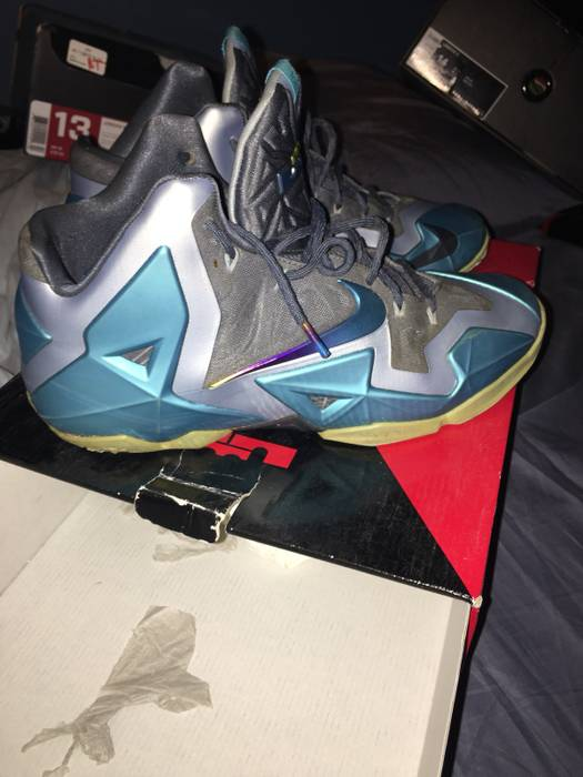 9a92b557a620 Nike Lebron 11 Gamma Blue Size 14 - Hi-Top Sneakers for Sale - Grailed